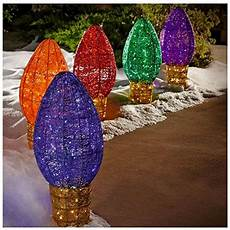 Big Lots C9 Christmas Lights Giant Outdoor Christmas Ornaments Lights