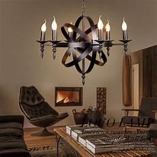 Walmart Dining Room Light Fixtures Industrial Metal Pendant Light 8 Light Cage Globe Ceiling