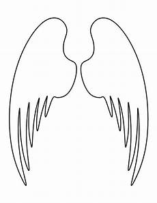 Angel Wings Template Printable Angel Wings Template