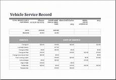 Car Service Record Book Vehicle Service Record Log Template At Www Xltemplates Org