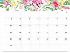 Printable May 2020 Calendar With Holidays May 2020 Calendar With Holidays Printable Dates All Day