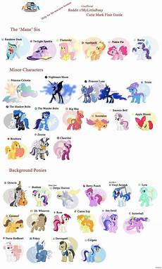 some ponies and their names my pony my