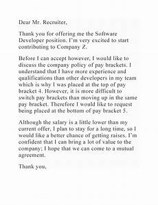 Salary Negotiation Letters 49 Best Salary Negotiation Letters Emails Amp Tips ᐅ