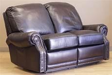 barcalounger premier ii leather 2 seat loveseat sofa