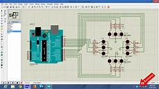 Traffic Light Program In Arduino Traffic Light Controller Using Arduino In Proteus Youtube