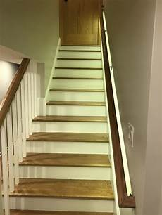 Led Lights For Stairs Stairs Handrail Led Light Cj Woodwork Amp Design