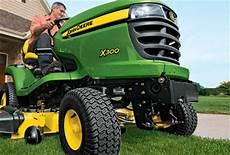 deere x300 lawn tractor give yourself the power to mow