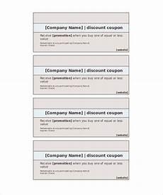 Printable Coupon Templates Free Blank Coupon Template 32 Free Psd Word Eps Jpeg