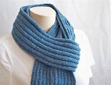 knitting scarf pattern knitting scarf blue mist scarf by gascon