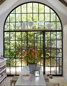 Arch Design Window And Door On Trend Floor To Ceiling Glass And Steel Windows