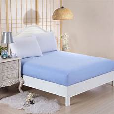 plain fitted bed sheets dyed colour single king