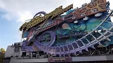 Rock N Roll Roller Coaster Lights On Rock N Roller Coaster Walt Disney Studios Paris Youtube