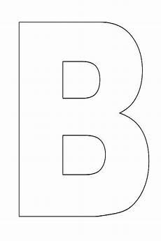 alphabet letter b template for kids 000 teaching 2 3