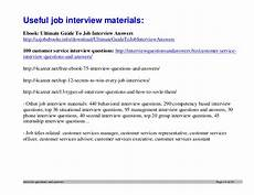 Interview Question And Answers For Customer Service Representative Top 12 Customer Service Interview Questions And Answers