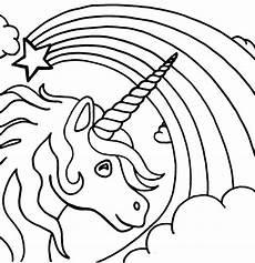 Unicorn Malvorlagen 9 Besten Ausmalbilder Bilder Auf Kita