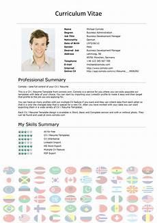 Curriculum Vitae Free Download 48 Great Curriculum Vitae Templates Amp Examples ᐅ Templatelab