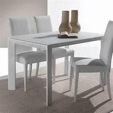 vetro tavolo tavolo in vetro allungabile harvey per cucina o soggiorno