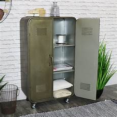 vintage locker style storage cabinet melody maison 174