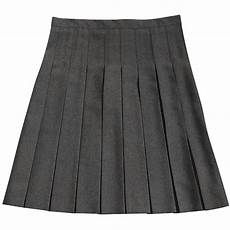 grey stitch pleated skirt mchugh