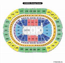 Seating Chart Of Ppg Paints Arena Ppg Paints Arena Pittsburgh Pa Seating Chart View
