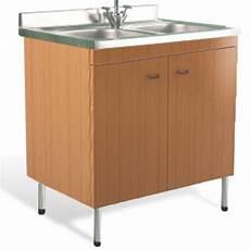mobili lavello mobile sottolavello teak 80x50 lavello inox doppia vasca