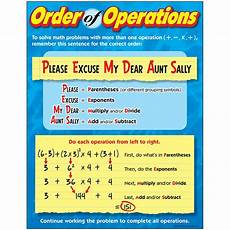 Order Of Operations Flow Chart Chart Order Of Operations Gr 4 8 T 38177 Trend