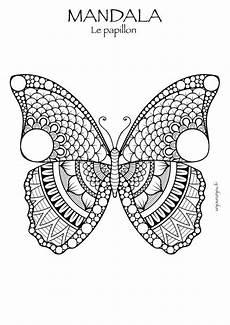 Malvorlage Schmetterling Mandala Mandala Malvorlagen Schmetterling Kostenlos