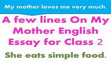 Mother Essays Mother Essay My Mother Essay Short Paragraphs In English
