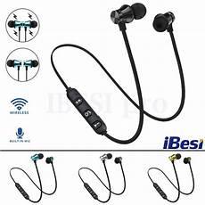 Bluetooth Professional Magnetic Wireless Earphone by Ibesi Xt11 Wireless Headphone Magnetic Bluetooth Earphone