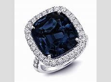 Coast Diamond   Diamond Dark Blue Spinel Diamond and