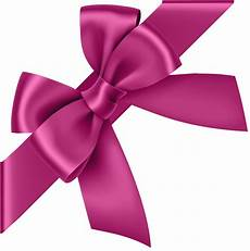 pink corner bow transparent clip image gallery