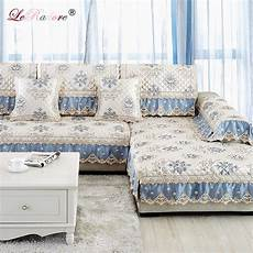 leradore new european style sofa cover sets floral pattern