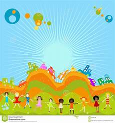 Children Playing Background Group Of Kids Playing Royalty Free Stock Image Image