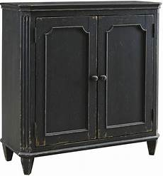 mirimyn antique black door accent cabinet t505 840