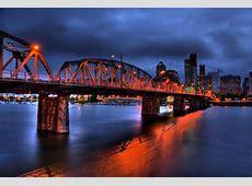 Hawthorne Bridge at Night   Flickr   Photo Sharing!