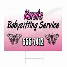 Babysitting Signs Babysitting Service Sign Signstoyou Com