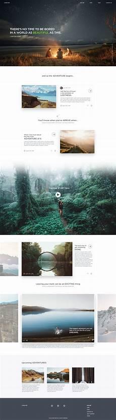 Adventure Web Design Adventure Minimal Web Design Web Design Examples Site