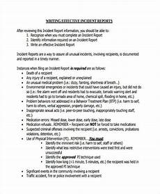 Template For A Report Free 10 Report Writing Examples In Pdf Examples