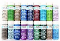 Martha Stewart Craft Paint Color Chart Delta Ceramcoat Acrylic Paints Beautiful Paint Color