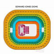 Edward Jones Dome Seating Chart Rows Edward Jones Dome Seating Charts Edward Jones Dome Tickets