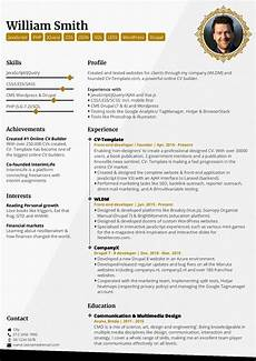 How To Do Your Cv Online Choose Your Cv Template Free Online Cv Builder