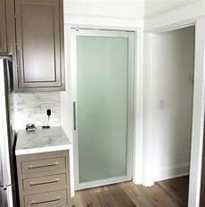 door swing frosted glass swing door