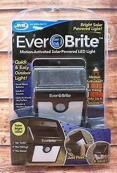 Ever Brite Light Led Motion Activated Outdoor Jml Ever Brite Motion Activated Solar Powered Led Outdoor
