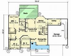 Handicap Accessible House Plans Handicap Accessible Ranch Home Plan 1161g 1st Floor