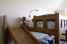 bunk bed with slide the wood whisperer