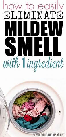 How To Get Rid Of Musty Smell In Furniture How To Get Rid Of Mildew Smell Only 1 Simple Ingredient