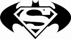 black and white superman logo png batman vs superman