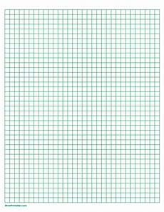 Free Printable Graph Paper 1 4 Inch Free Printable Green Graph Paper The Paper Includes 1 4