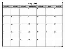 Charts May 2018 May 2018 Calendar Free Printable Monthly Calendars