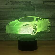 Genie Lamp Light In Car 2018 New Car 3d Night Light Led Acrylic Visual Touch Kids